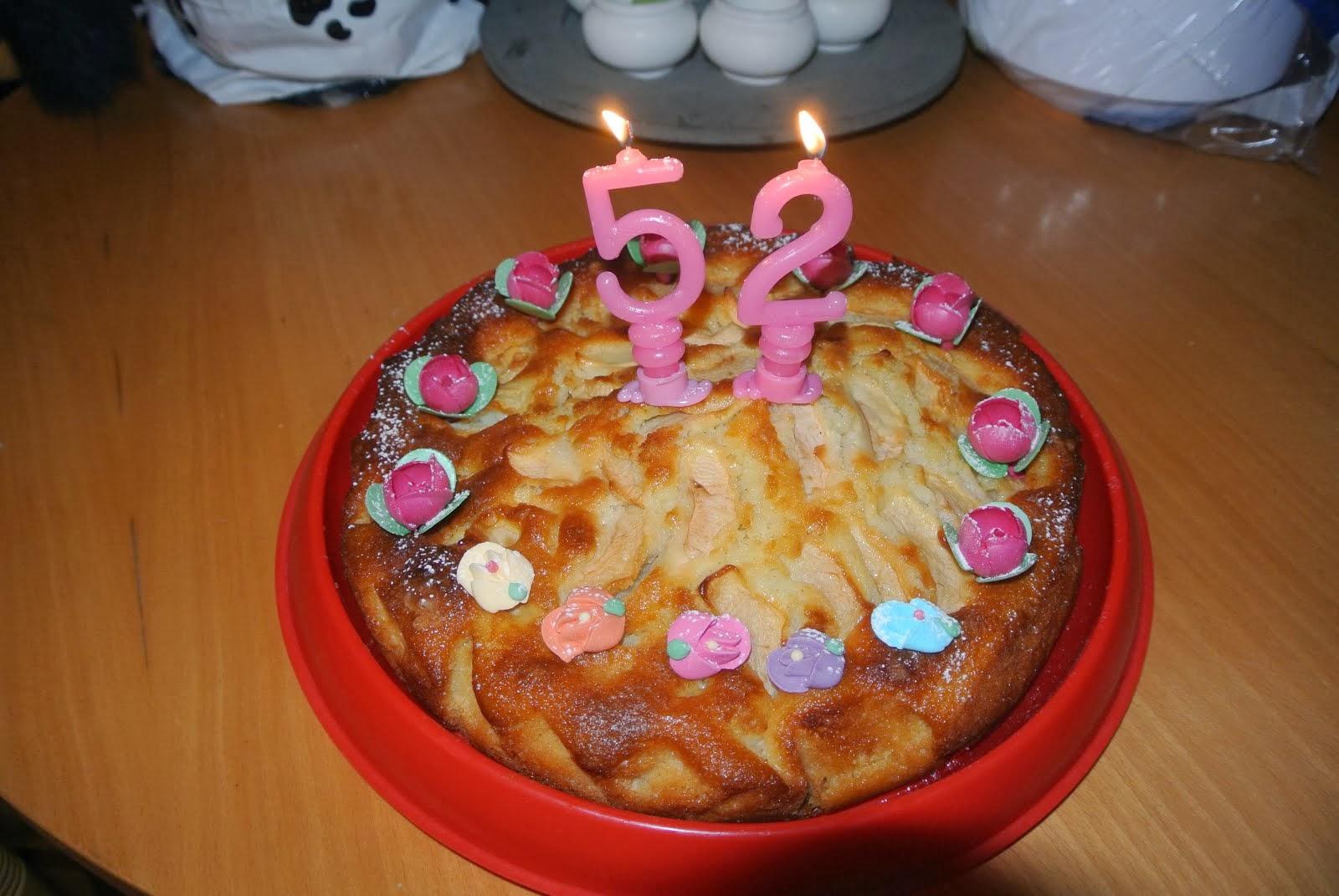 Buon compleanno mamma! Torta di mele!