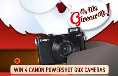 Canon Oh My Giveaway Photo Contest