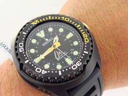 SEIKO PROSPEX KINETIC GMT DIVER 200m - SEIKO SUN045 BLACK CASE - KINETIC