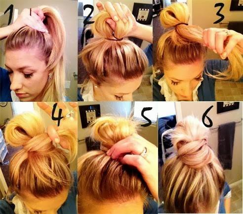 Coiffure simple et rapide pour cheveux mi-long