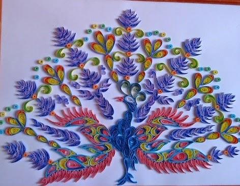 Рисунки из квилинга