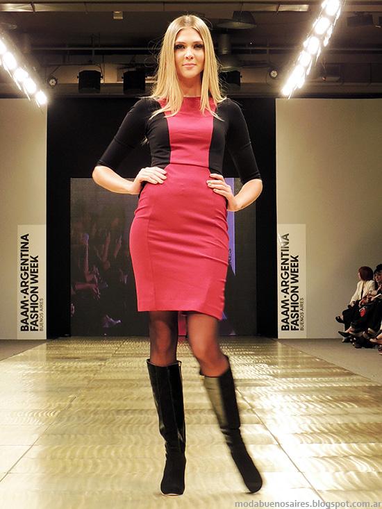 Vestidos casuales invierno 2014 Markova