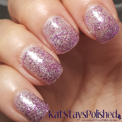 Sally Hansen Insta-Ombre - Fuchsia-nista | Kat Stays Polished