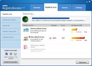 Registry booster activation code free download crack