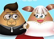Pou Wedding Party juego
