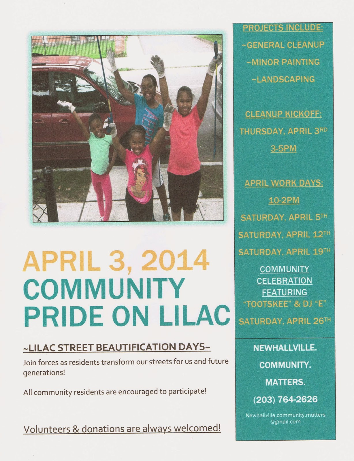The FICKLIN MEDIA GROUP,LLC: April 3, 2014, Community Pride on Lilac