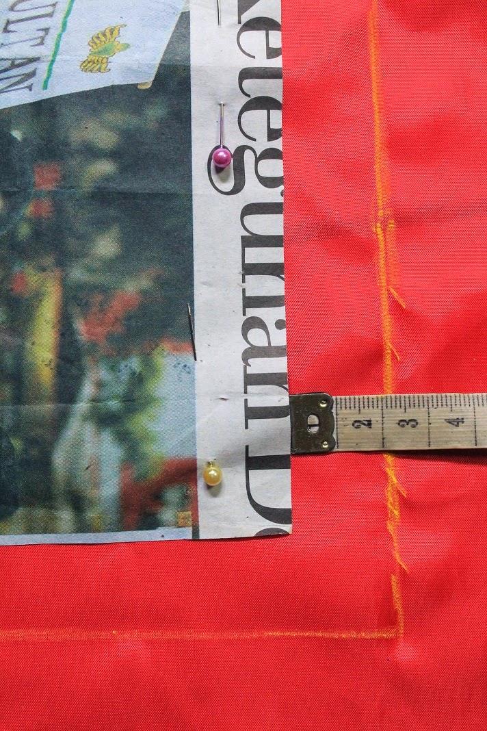 cara memotong kain dengan pensil kain tanpa mengotori kain dengan noda bekas rader