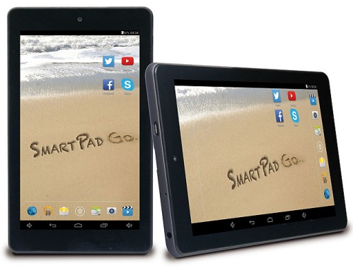 Tablet serie SmartPad Go a basso costo con android Kitkat di Mediacom
