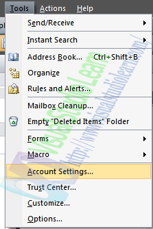 Integrating Your Gmail Account to Outlook 2007