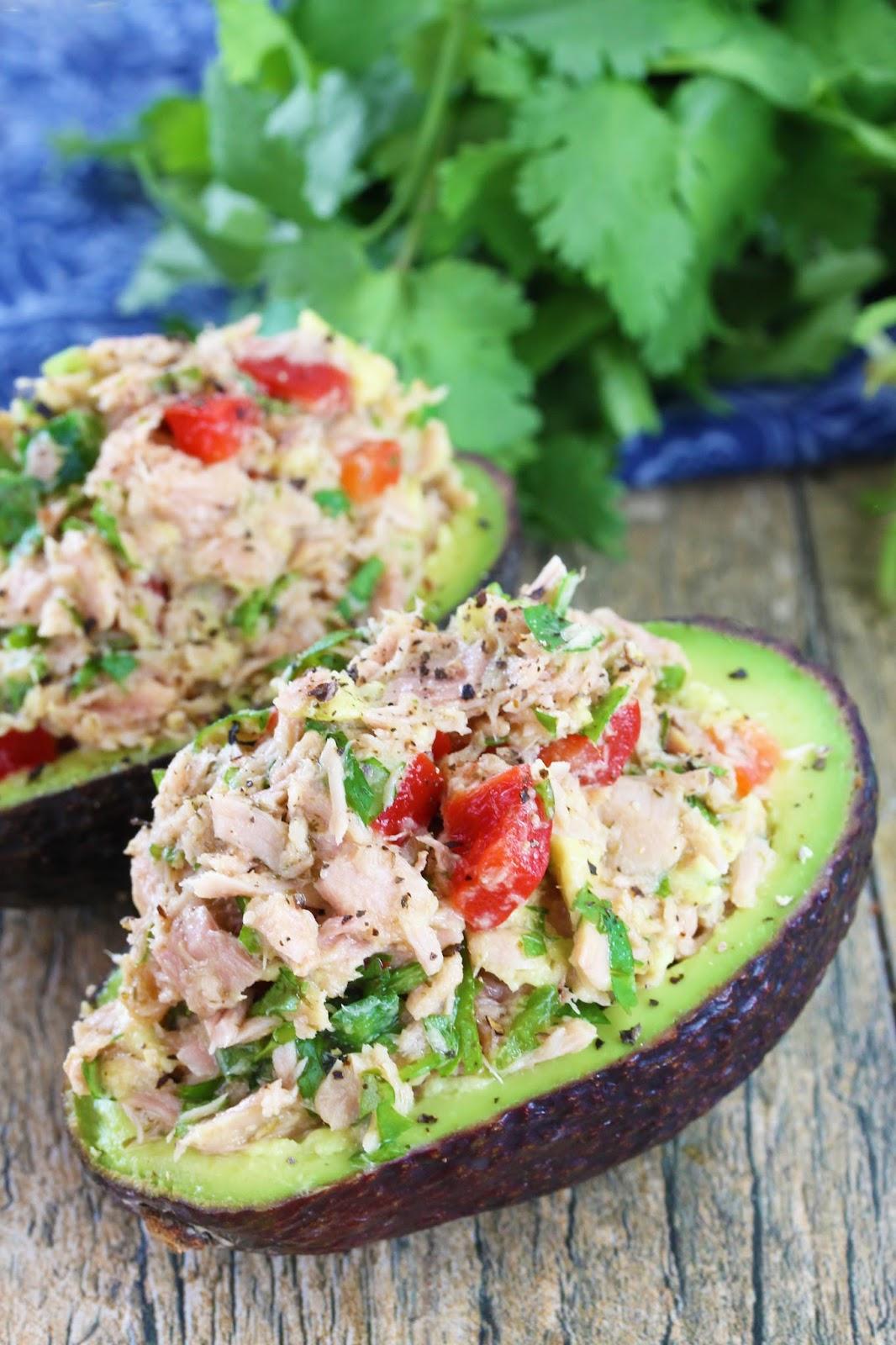 ... avocado avocado stuffed with tuna tuna stuffed avocados stuffed