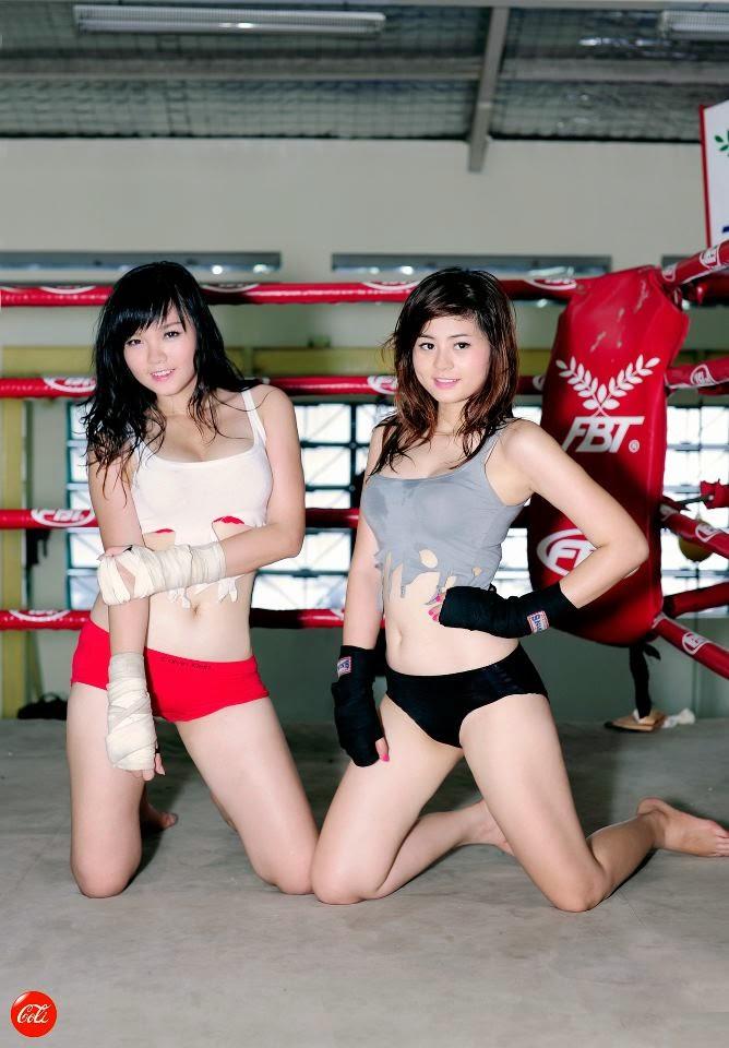 Khi phái đẹp đấu boxing 8
