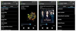 Aplikasi Musik Android Holo Music Player
