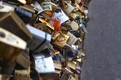 Candados en los Puentes de Paris