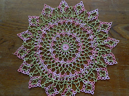 Mother's Day doily