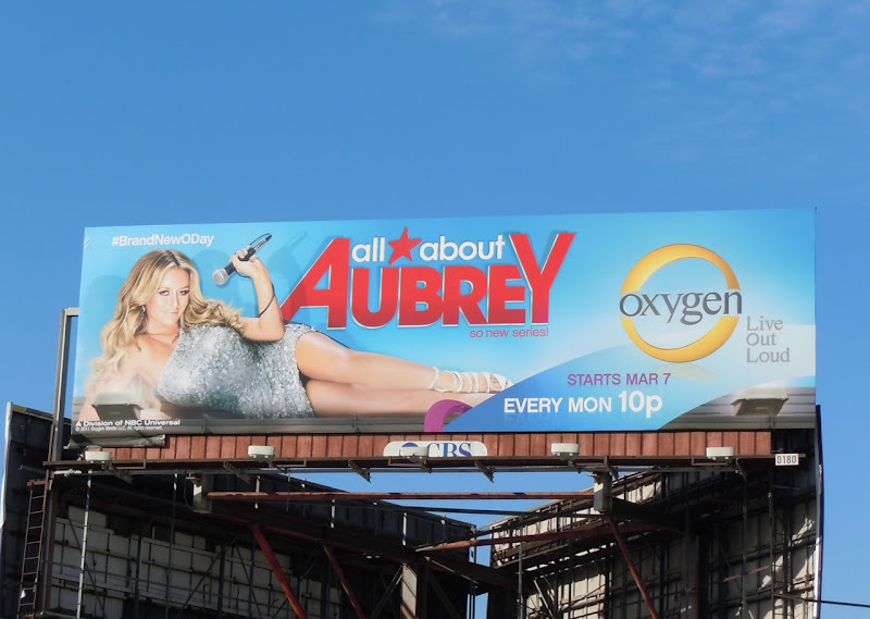 All About Aubrey billboard