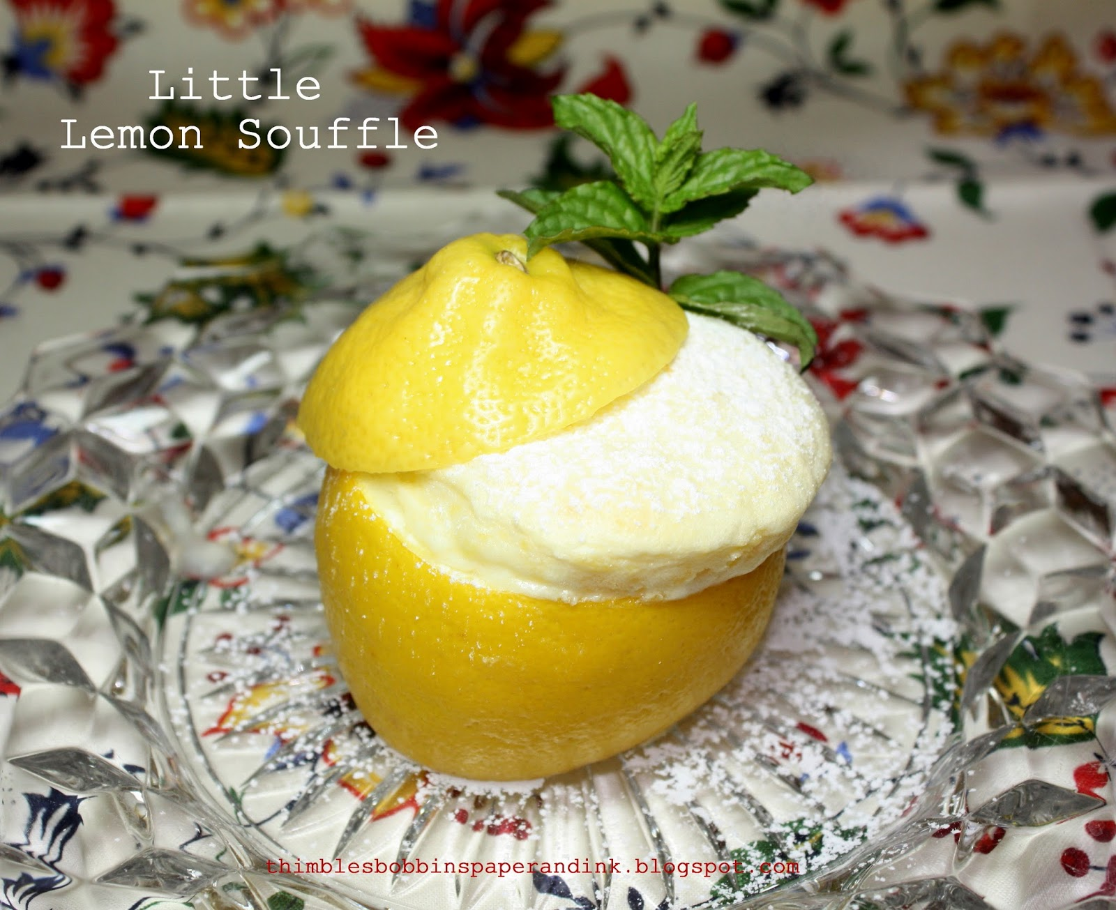 Little Lemon Souffles Recipe — Dishmaps