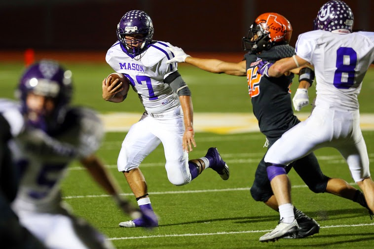 2014 High School Football Playoffs Mason Vs Refugio State