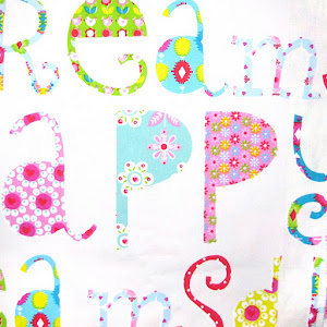 Tela Happy Letters