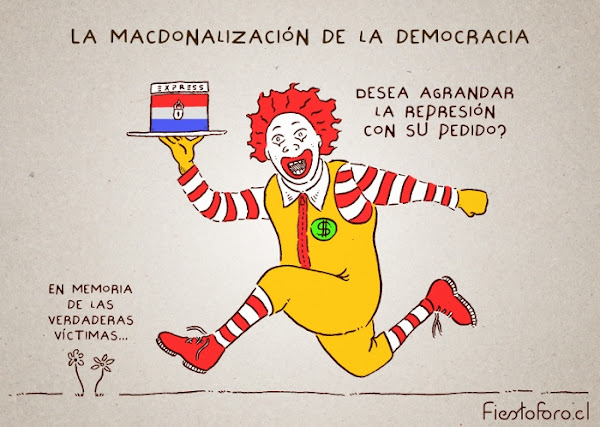 Caricatura Golpe Estado Paraguay