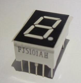 Display 7 segmentos FJ5101AH