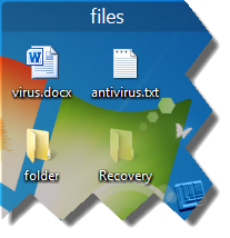 unhide files and folders hidden by viruses