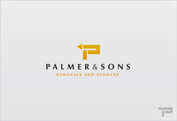 Palmers Removals Leicester UK. Logo Design UK.