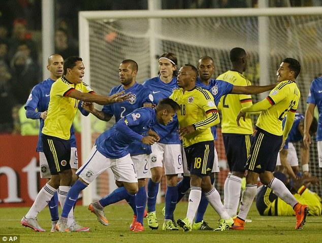 Neymar chia tay Copa America