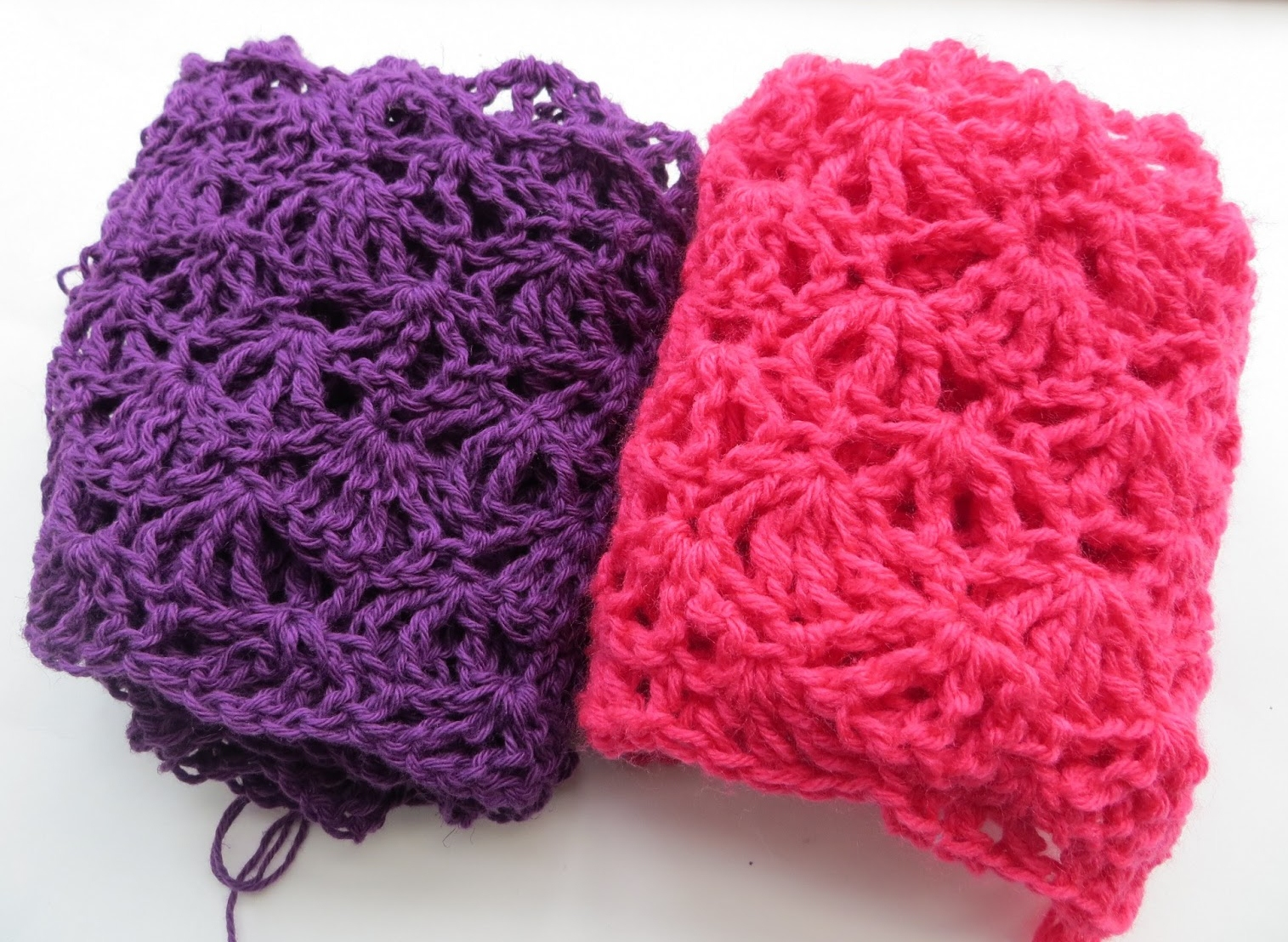 For the Love of Crochet Along: Alana Lacy Scarf, Free Crochet Pattern