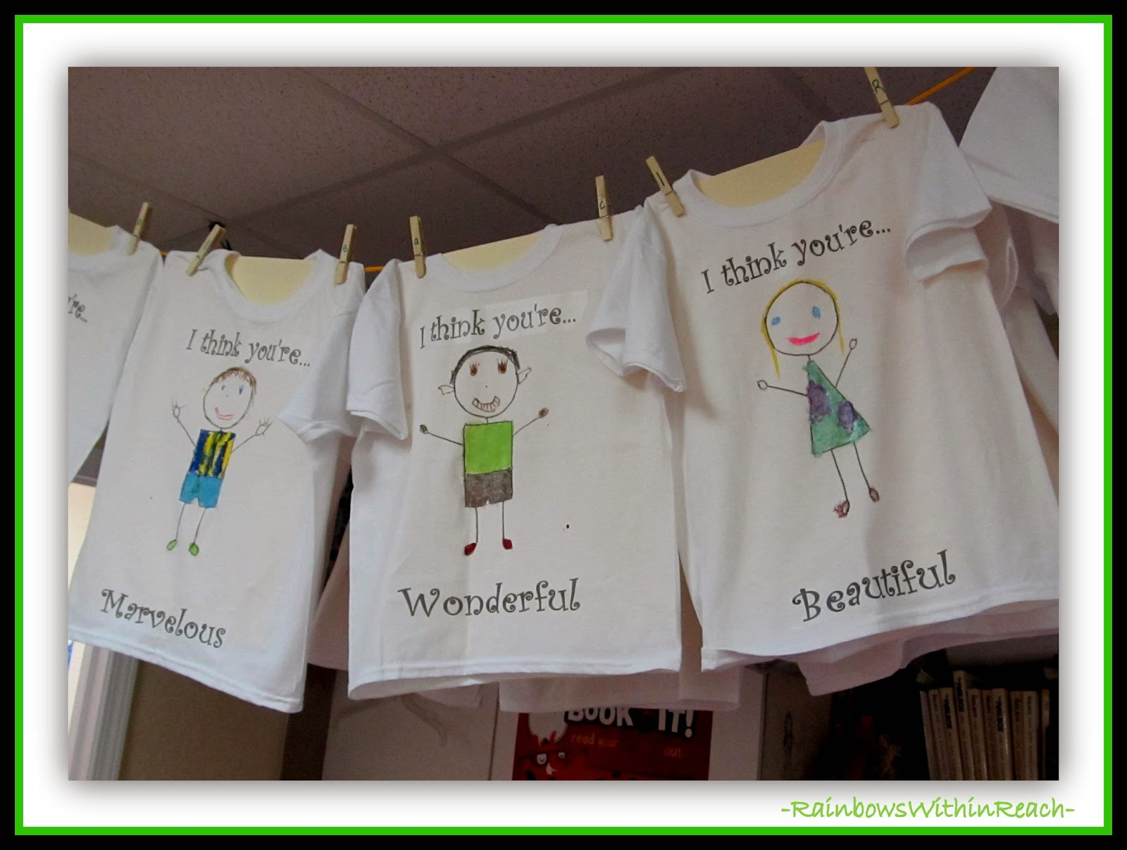 "Personalized T-shirts for ""You're Wonderful"" by Debbie Clement"