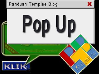 Macam Macam, Cara Membuat, Memasang Pop Up Di Blog