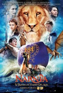 descargar Las crónicas de Narnia 3: La travesía del Viajero del Alba (2010), Las crónicas de Narnia 3: La travesía del Viajero del Alba (2010) español