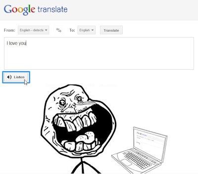 google translate parody
