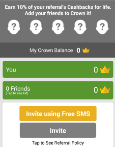 crown it refer and earn