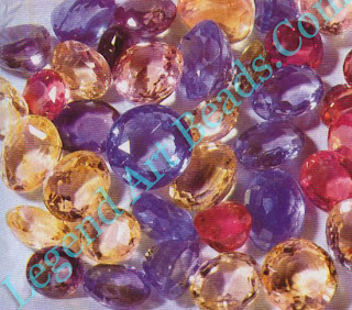 Blue, yellow pink etc. sapphires.