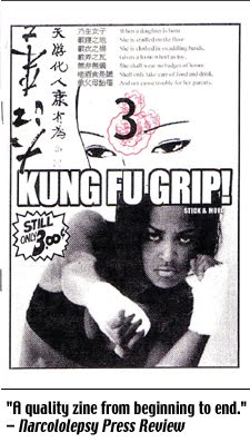 Kung Fu Grip #3A: Stick & Move (2007), 56-pages