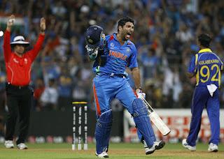 India v Srilanka, WorldCup2011 Final – Highlights
