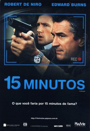 Filme Poster 15 Minutos DVDRip XviD & RMVB Dublado