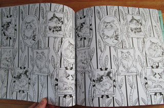 Blueroses Heart Cats In Paris A Magical Coloring Book