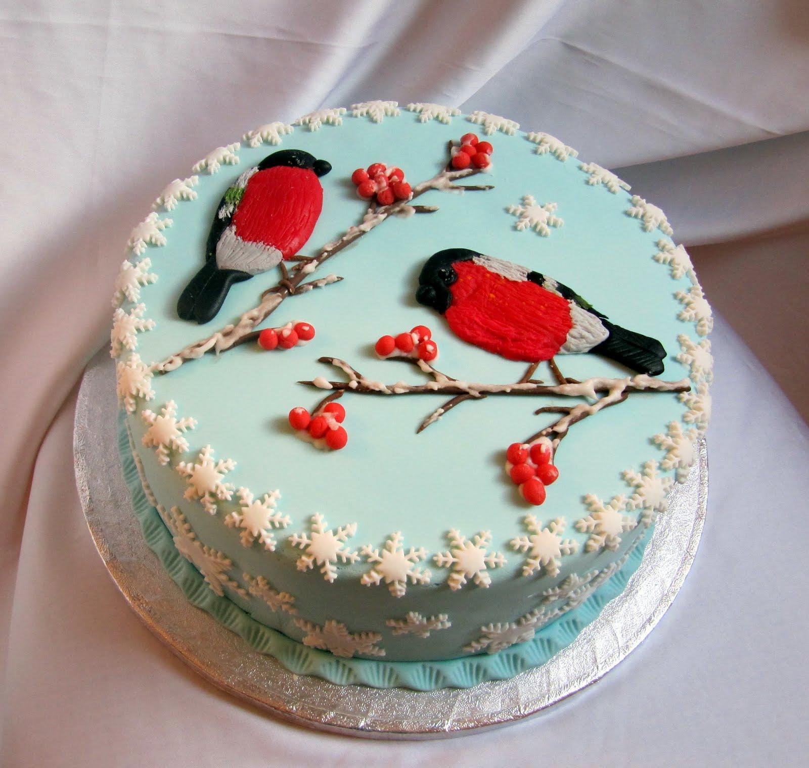 Фото новогодних тортов своими руками
