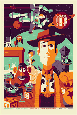 """Toy Story"" Disney Screen Print by Tom Whalen"