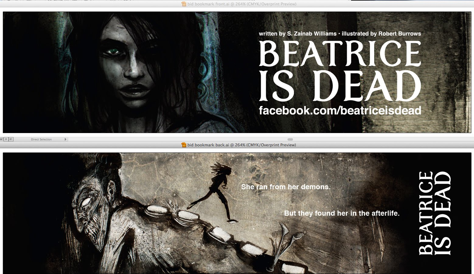 Beatrice is Dead bookmark