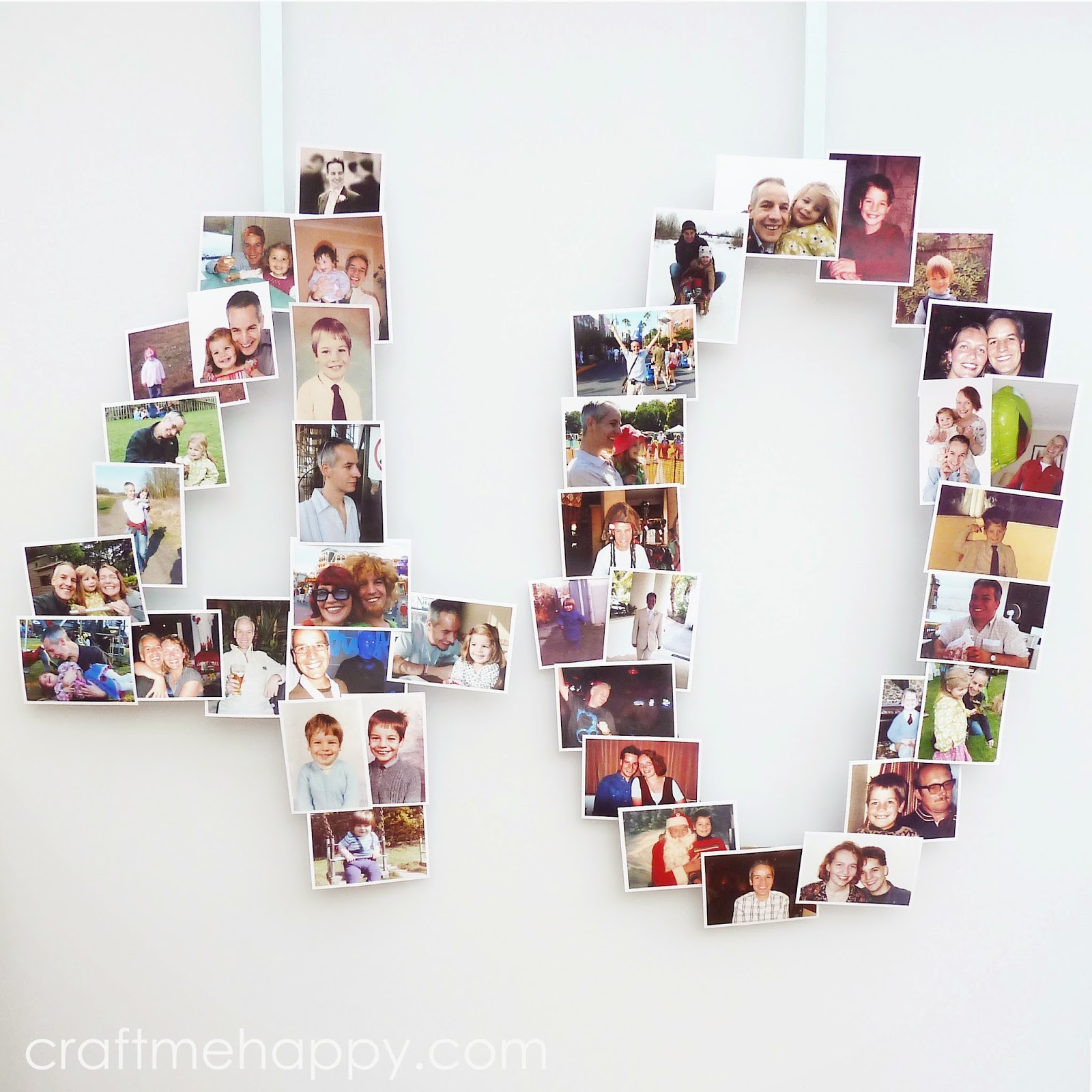 21 Fabulous Wedding Photo Display Ideas Reception: 40th Birthday Photo Banner Display