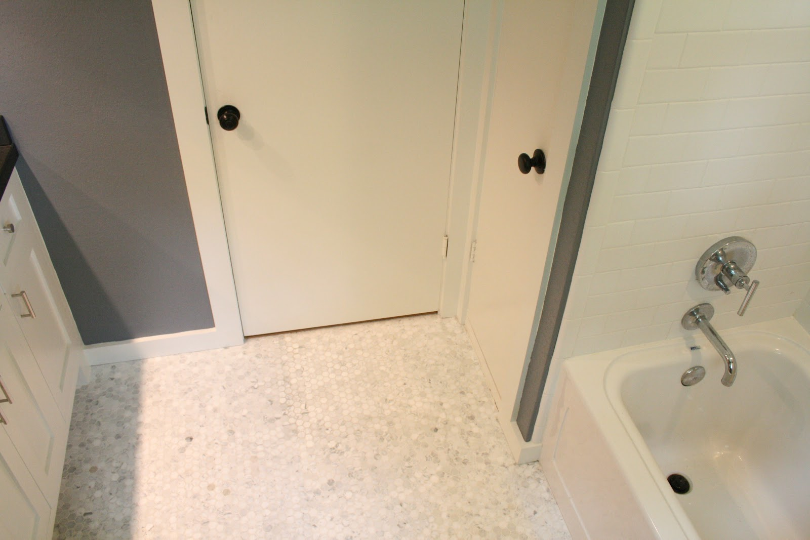 m+b diaries: bathroom project: part 3