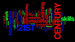 wordle of 21st century learning