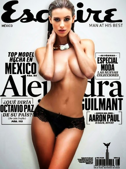 Esquire Mexico Magazines, American model, Alejandra Guilmant, Alejandra Guilmant sexy photos, Alejandra Guilmant nude pic, Alejandra Guilmant bikini and lingerie