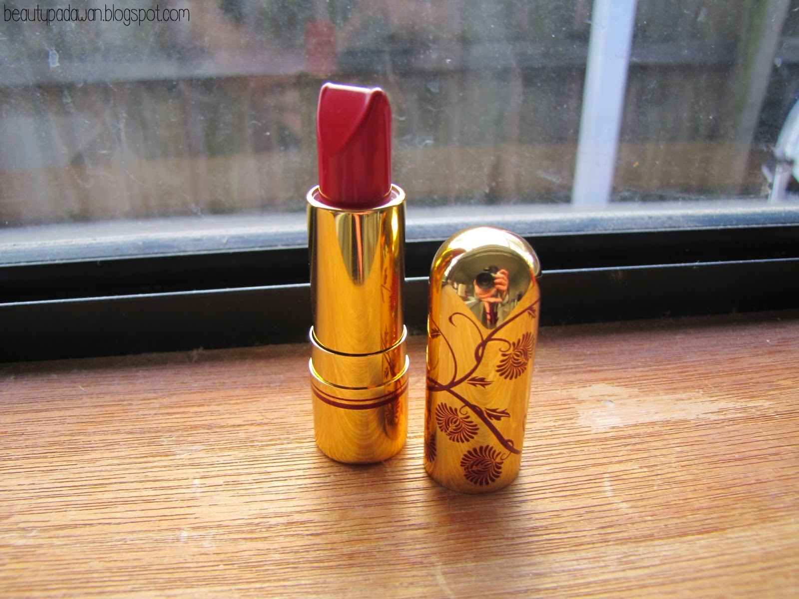 "Besame Cosmetics lipstick - ""Red Hot Red"""
