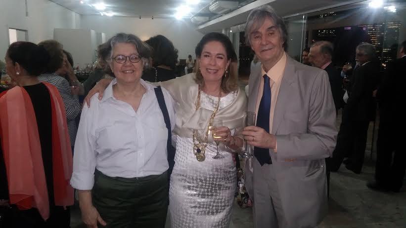 Posse da historiadora Mary del Priore na Academia Carioca de Letras.