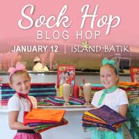 Island Batik's sock Hop
