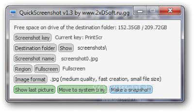 PC Screenshot Software | QuickScreenshot