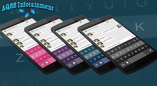 Fleksy Keyboard didesain khusus untuk mempermudah dan mempercepat pengetikan pada perangkat smartphone berukuran kecil. Selain itu tampilan yang warna-warni membuatnya menarik.